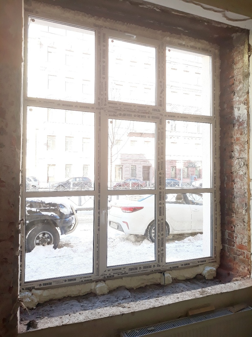 Замена пластикового окна в Балашихе