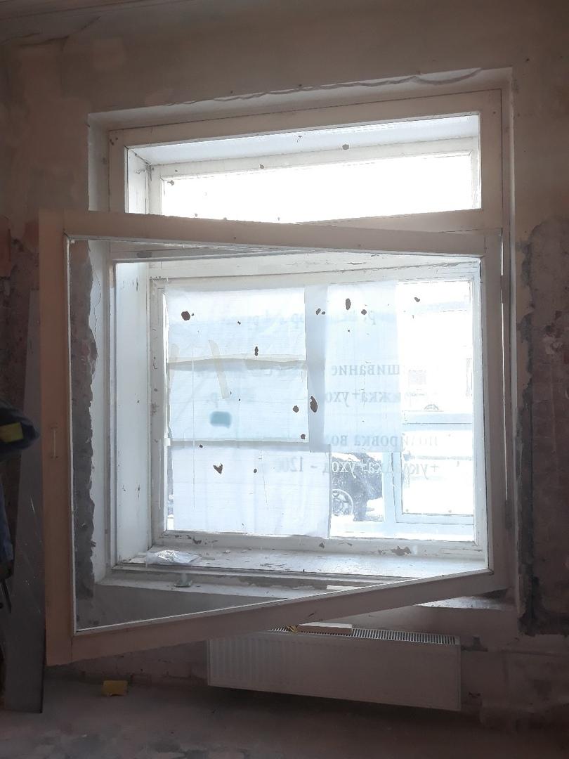 Замена пластикового окна в Салоне красоты в Чебоксарах