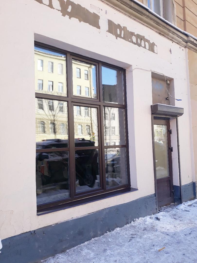 Замена окна в Салоне красоты в Балашихе