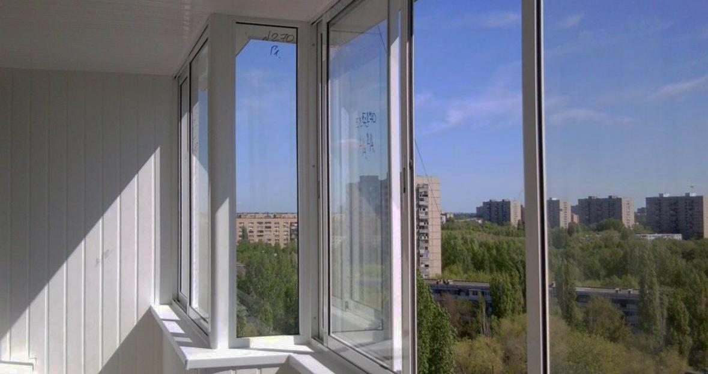 холодное алюминиевое остекление балконов и лоджий